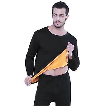 Thermal Underwear Mannen / vrouwen Long Johns Sets, Fleece Warm te houden in koud weer