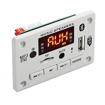 דיבורית מיקרופון, נגן USB MP3 לרכב אלחוטי - חריץ לכרטיס Tf / Usb / Fm