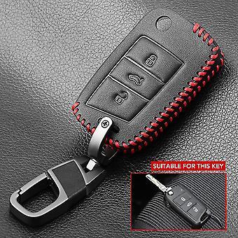 New Leather Flip Car Key Case