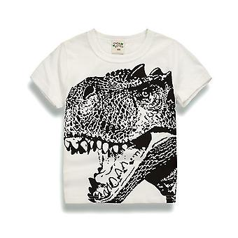 Mode Tee Tops mit Dinosaurier