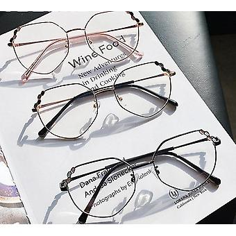 Women Elegant Irregular Eyeglasses