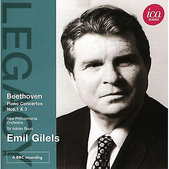 L.V. Beethoven - Beethoven: Piano Concertos Nos. 1 & 3 [CD] USA import