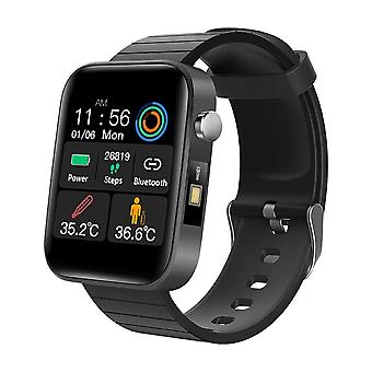 Men Women Smart Watch With Body Temperature Measure, Sports Fitness, Heart