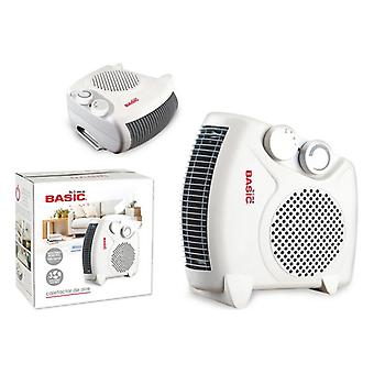 Värmare Basic Home 1000-2000 W Vit