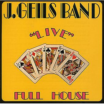 J. Geils Band - täyskäsi Live [CD] USA tuonti