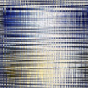 Dywan z wielokolorowego dywanu z wielokolorowego poliestru, bawełny, L100xP200 cm