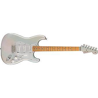 Guitare électrique H.e.r. stratocaster en lueur chromée