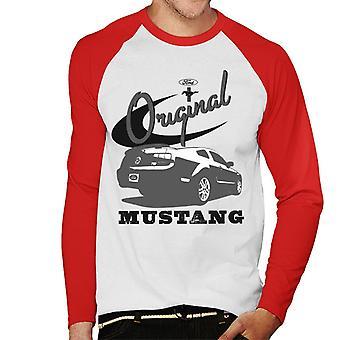 Ford Original Mustang Men's Baseball T-Shirt met lange mouwen