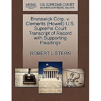 Brunswick Corp. V. Clements (Howell) U.S. Supreme Court Transcript of
