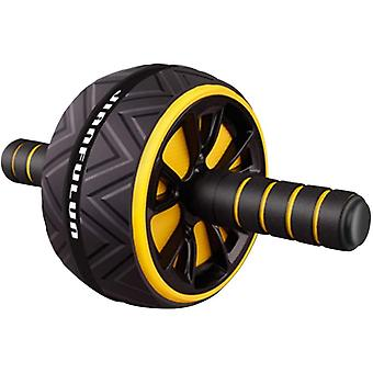 Dual Wheel Ab Roller, Exercise And Fitness Wheel With Easy Grip Handles
