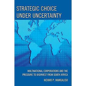 Strategische keuze onder onzekerheid