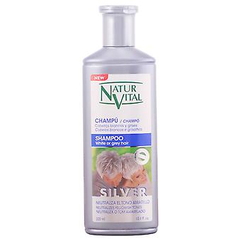 Naturaleza y Vida Coloursafe Silver Shampoo White and Grey Hair 300 ml