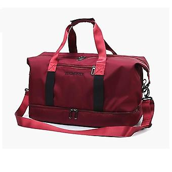 Gym Bag, Pearlescent Women Fitness Training Handbag With Shoes