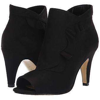 Bella Vita mujeres Nicolette cuero Peep dedo del pie tobillo botas de moda