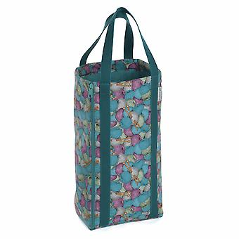 Hobby Gift Knitting Bag with Pin Storage: Reversible: Knit 'n' Purl