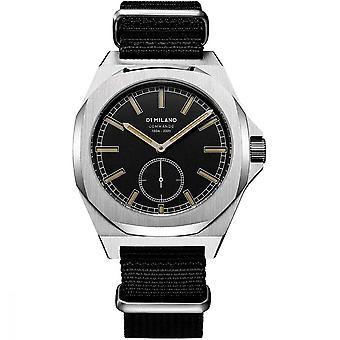 Watch D1 Milano COMMANDO Quartz - Silver Dial - 38 mm - MTNJ04