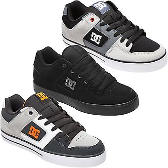 DC Shoes Mens Pure Leather Low Top Skateboarding Trainers Zapatillas deportivas