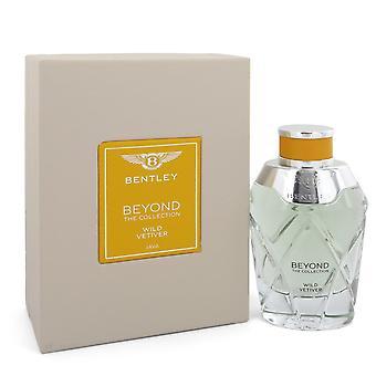 Bentley Wild Vetiver by Bentley Eau De Parfum Spray (Unisex) 3.4 oz