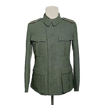 Uniforme de lã de jaqueta de combate