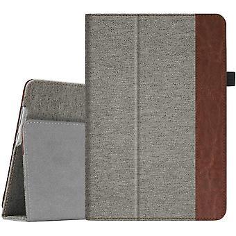 FengChun Hülle für Huawei MediaPad M5 Lite 10 - Ultra Schlanke Folio Kunstleder Schutzhülle mit Auto