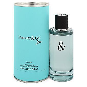 Tiffany & Love For Him by Tiffany EDT Spray 90ml