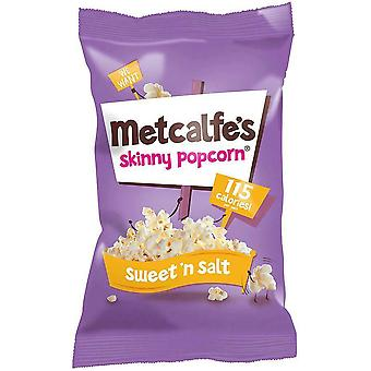 Metcalfe Skinny Sweet 'n Salt Topcorn 20g x24