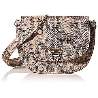 PIECES Pcnomi Leather Cross Body Fc, Women's Folder Bag, Black, 5x20x23 centimeters (B x H x T)