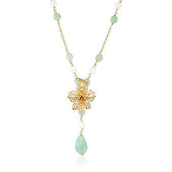 MISIS Woman-Necklace Marisol Silver 925 Agate Multicolore 50.5 cm - CA07498V