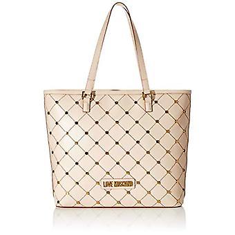 Love Moschino Jc4101pp1a, Women's Tote Bag, Beige (Natural), 14x33x43 cm (W x H x L)