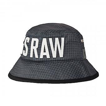 G-Star Raw Raven Grijs Ripstop Bucket Hat D19826
