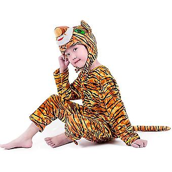 4Xl (170cm) μοτίβο τίγρης μακρύ cosplay κοστούμι κοστούμι κοστούμι κοστούμι ρούχα διακοπές ρούχα cai449