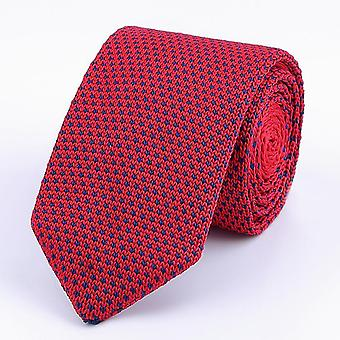 Men's Knitted Leisure Triangle Striped Neckties