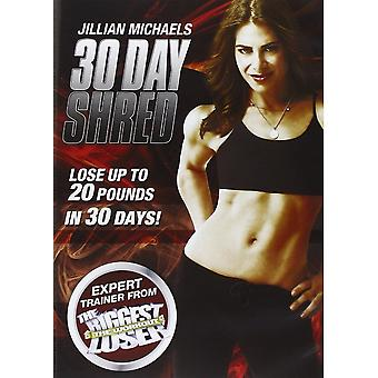 Jillian Michaels 30 dagars Shred DVD