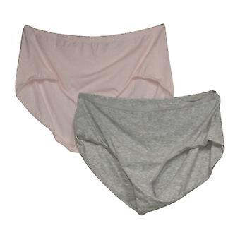 Rhonda Shear Plus Culottes 2-pack Melange Culotte Rose 685226
