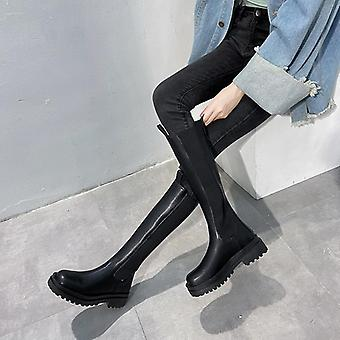 Chelsea Boots, Winter  Chunky Boots, Women Shoes