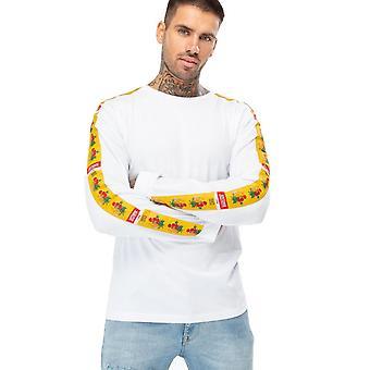 Hype Męskie Justhype Floral 93 T-shirt z długim rękawem