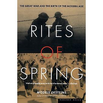 Ritos de primavera por Eksteins &Modris