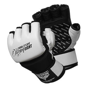 Beltor MMA Handschuhe - Heavy Eight - Größe XL - weiß