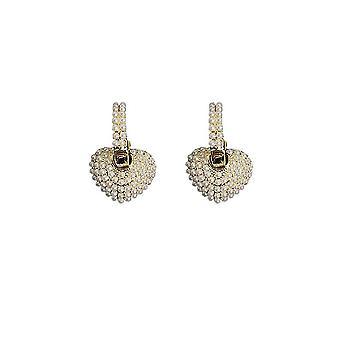 Earrings Golden Dongdaemun Early Spring Pearl Eardrops For Party