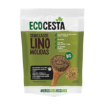 Organic ground flax seeds 200 g