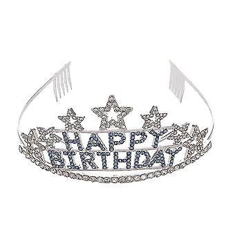 Braut Krone Stirnband alles Gute zum Geburtstag Party Tiara