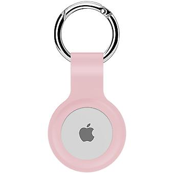 Protective cover silicone case for airtag  - pink