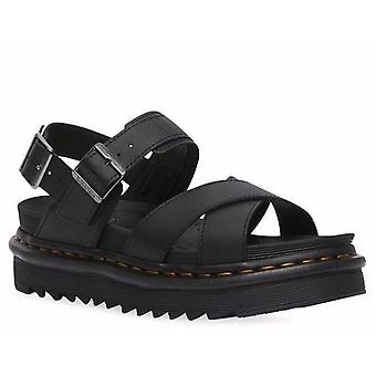 Dr. martens women's leather sandals awo86619