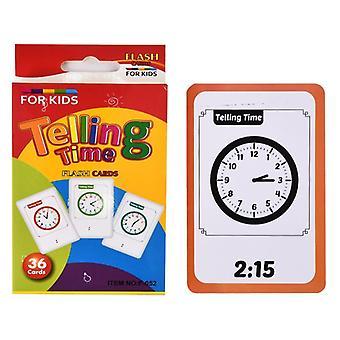 36Pcs gyerekek kognitív forma állat színes oktatókártya flash puzzle csecsemő korai oktatás tanulás játék ajándékok gyerekeknek