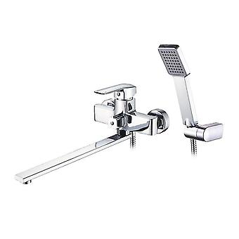 Faucets brass faucet bath tub mixer wall deck mounted