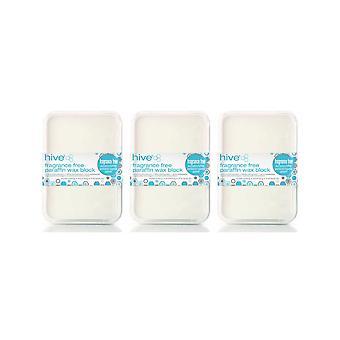 Hive of Beauty 3 For 2 Voksing Duft Gratis Paraffin Terapi Behandling - 450g