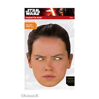 Rey Official Star Wars The Force Awakens Card Party Fancy Dress Mask