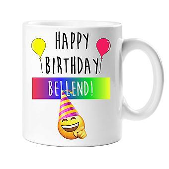 Happy Birthday Bellend Mug