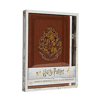Harry Potter: Hogwarts Hardcover Ruled Journal: With Pen