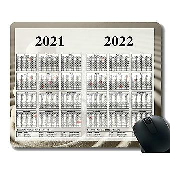 Keyboard mouse wrist rests 300x250x3 calendar for 2021 - 2022 years with important holidays mouse pad anti-slip sand stone